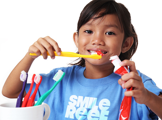 Pediatric Dentist Las Vegas How to Brush Child Teeth