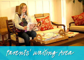 Parents Waiting Area - Smile Reef Pediatric Dentistry