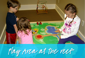 Play Area At The Reef - Smile Reef Pediatric Dentistry