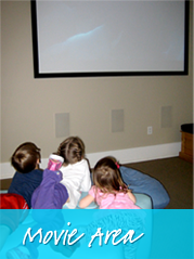 Movie Area - Smile Reef Pediatric Dentistry